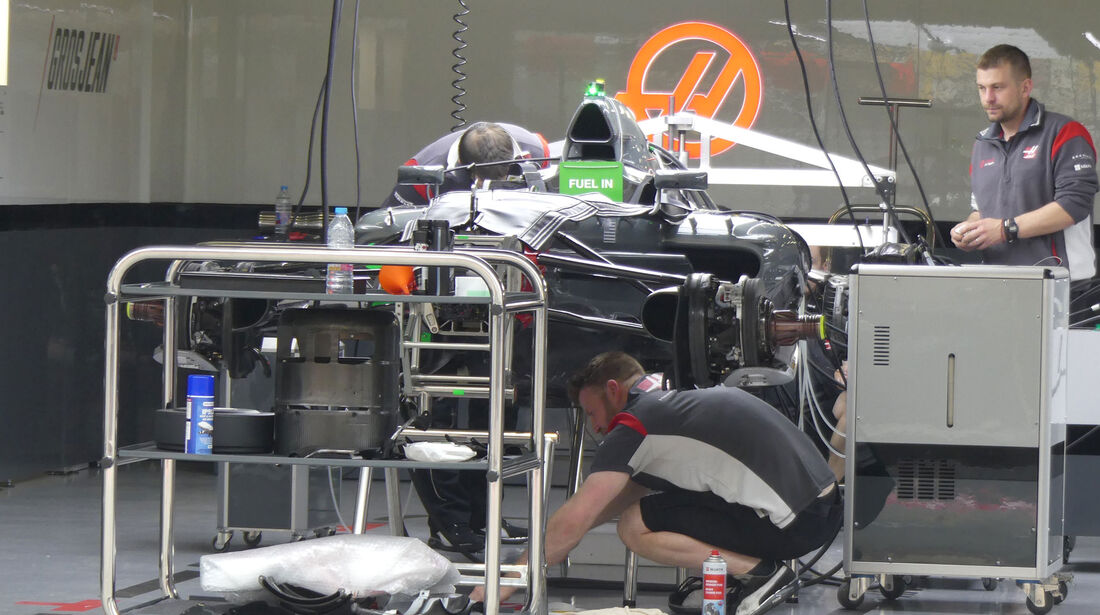 HaasF1 - Formel 1 - GP China - Shanghai - 6.4.2017