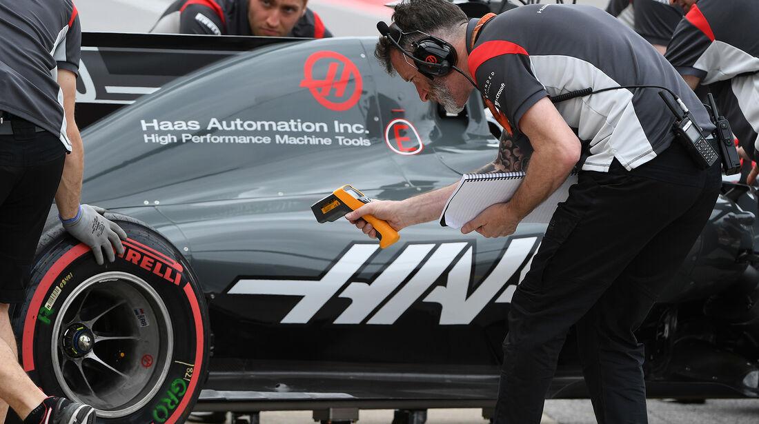 HaasF1 - Formel 1 - GP Kanada - Montreal - 9. Juni 2017