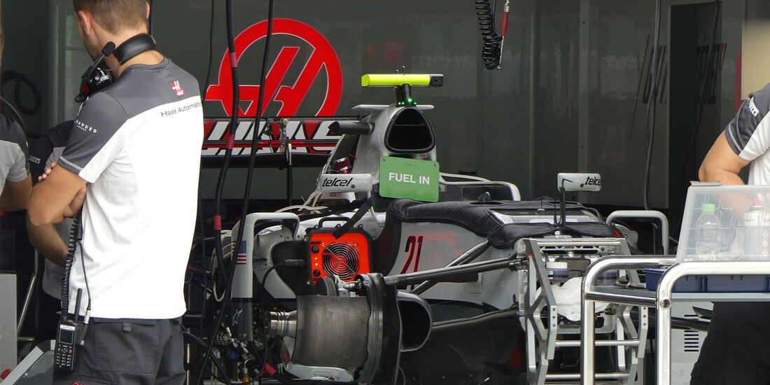 HaasF1 - Formel 1 - GP Malaysia - Sepang - Donnerstag - 29.9.2016