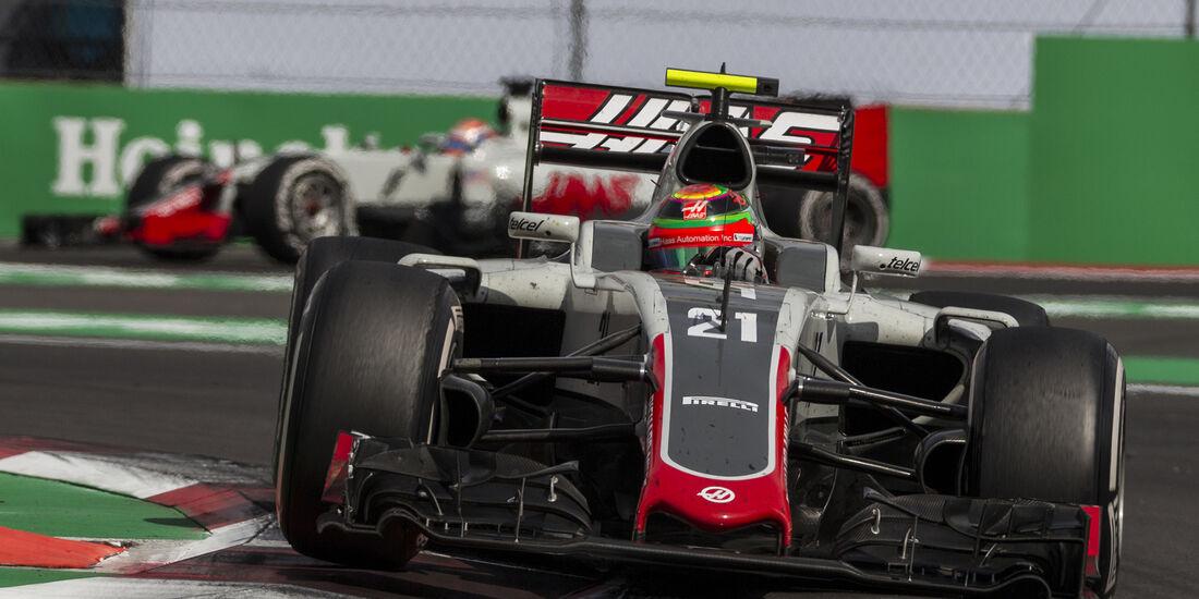 HaasF1 - Formel 1 - GP Mexiko 2016