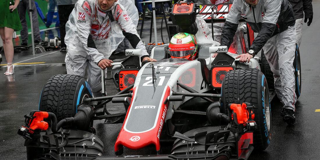 HaasF1 - GP Brasilien 2016