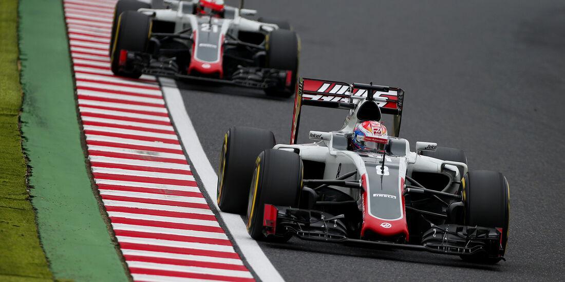 HaasF1 - GP Japan 2016
