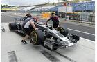 HaasF1 - GP Ungarn 2017 - Budapest - Formel 1 - Donnerstag - 27.7.2017
