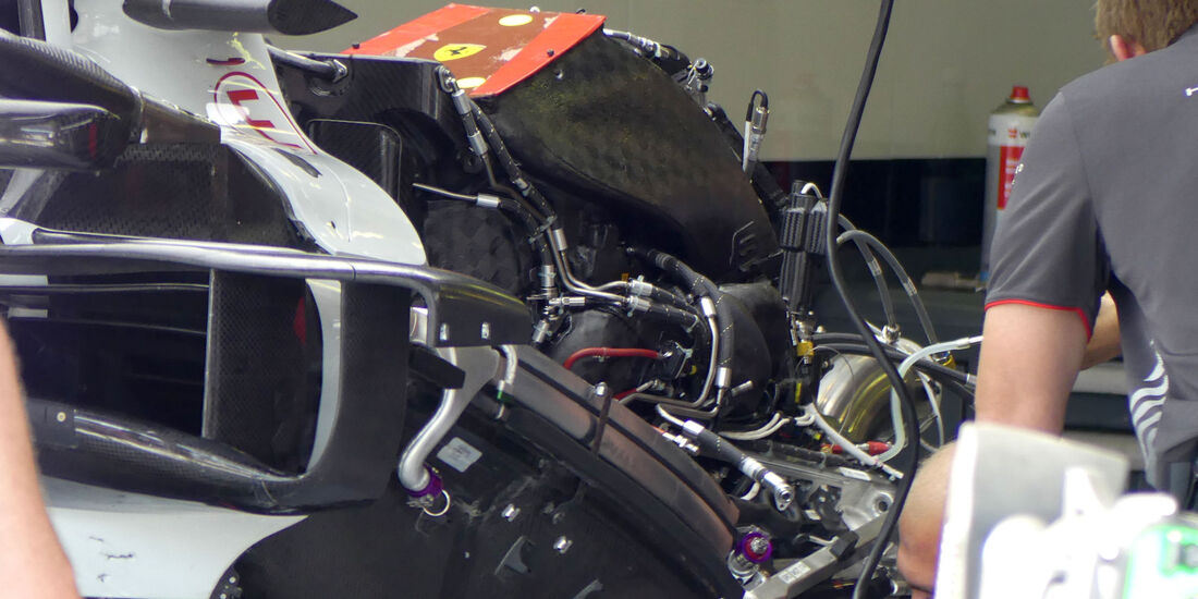HaasF1 - GP Ungarn 2018 - Technik-Updates