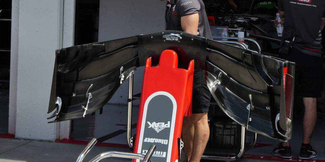 HaasF1 - GP Ungarn - Budapest - Formel 1 - Donnerstag - 26.7.2018