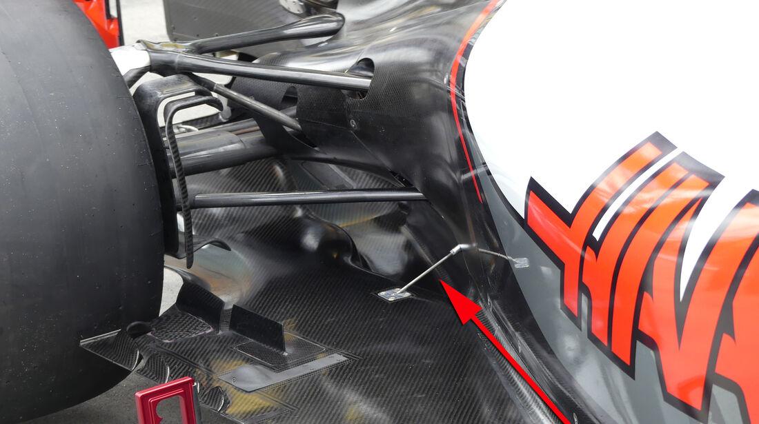 HaasF1 - Technik - GP Australien 2016