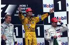 Häkkinen - Frentzen - Barrichello - GP Frankreich 1999 - Magny-Cours