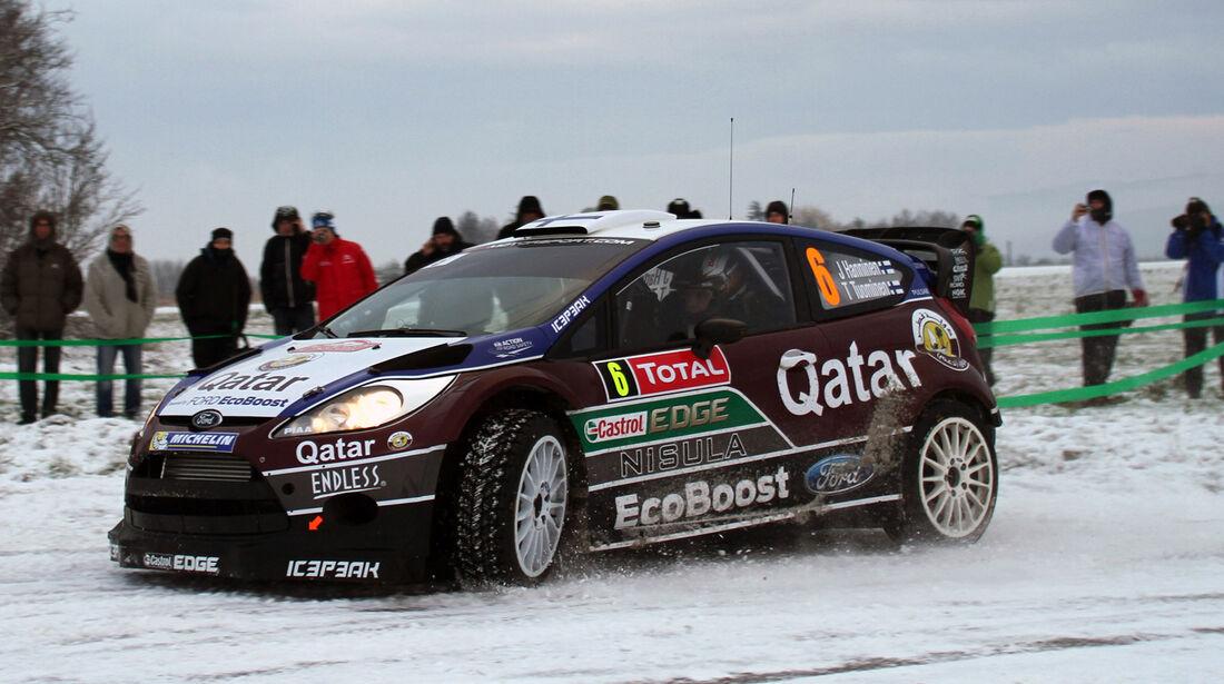 Hänninen Ford Rallye Monte Carlo 2013