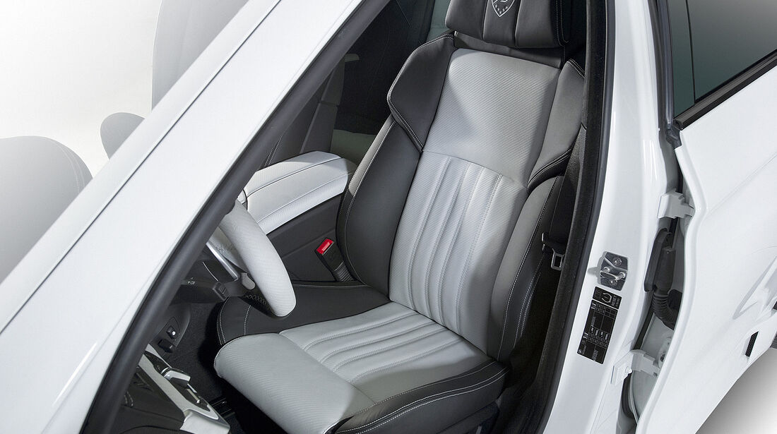 Hamann BMW M5, Fahrersitz
