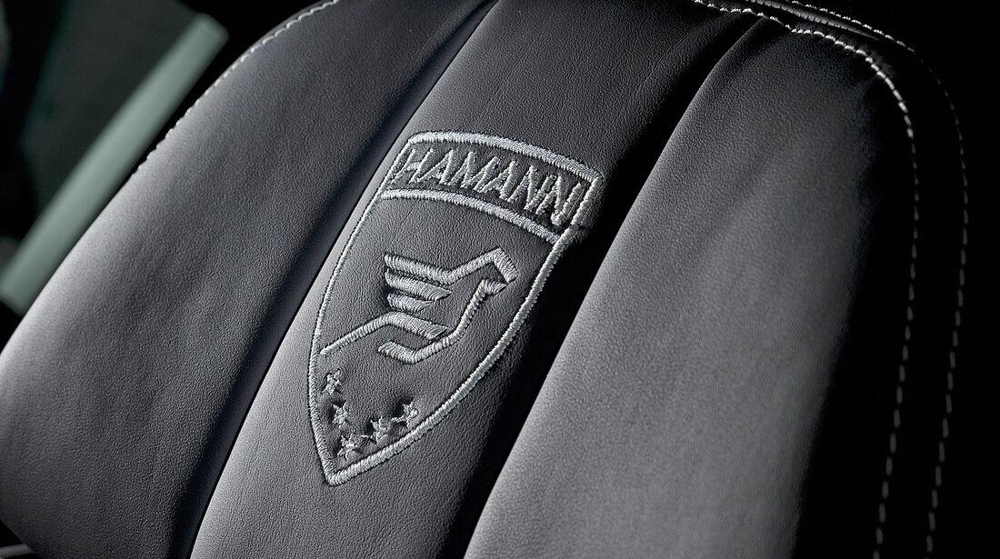 Hamann BMW M5, Kopfstütze