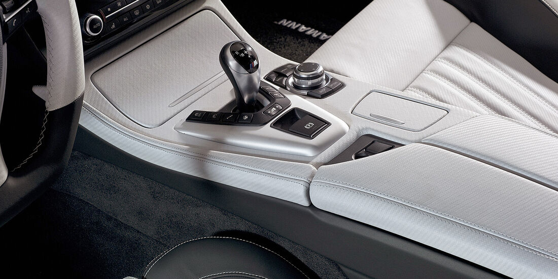 Hamann BMW M5, Mittelkonsole, Schalthebel