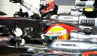Hamilton & Button - McLaren - Formel 1 - GP Ungarn - Budapest - 28. Juli 2012
