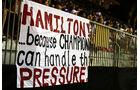 Hamilton-Fans - GP Singapur 2014