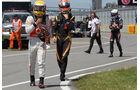 Hamilton & Grosjean - Formel 1 - GP Kanada - 10. Juni 2012