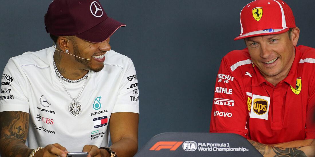 Hamilton & Räikkönen - Formel 1 - GP Singapur - 13. September 2018