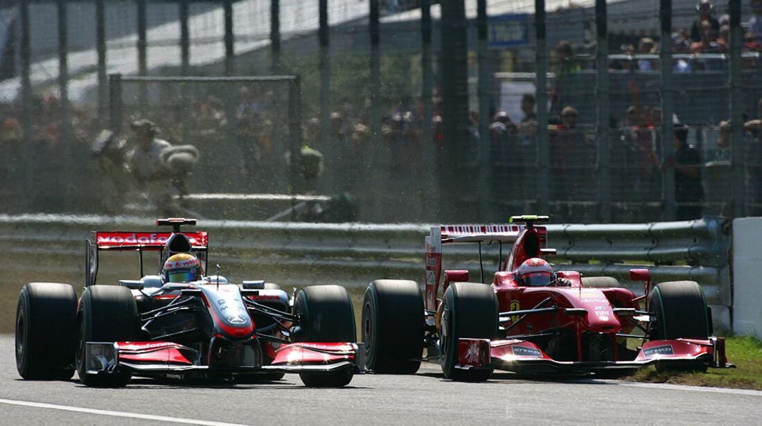 Hamilton & Räikkönen