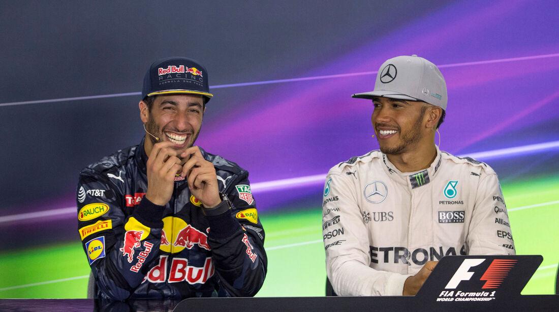 Hamilton - Ricciardo - GP Deutschland 2016 - Hockenheim