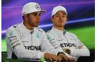 Hamilton & Rosberg - Formel 1 - GP Abu Dhabi - 22. November 2014