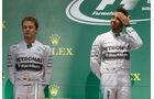 Hamilton & Rosberg - GP Japan 2014