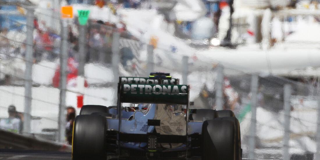 Hamilton & Rosberg - GP Monaco 2013
