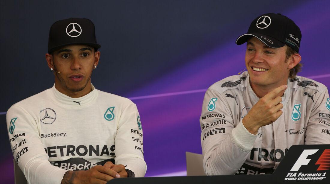 Hamilton & Rosberg - GP Österreich 2014