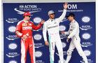 Hamilton - Rosberg - Räikkönen - GP Brasilien 2016 - Interlagos - Qualifying
