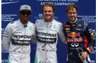 Hamilton, Rosberg & Vettel - Formel 1 - GP Kanada - Montreal - 7. Juni 2014