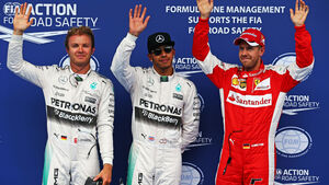 Hamilton - Rosberg - Vettel - GP Österreich - Qualifying - Formel 1 - Sonntag - 20.6.2015