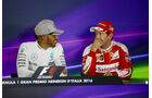 Hamilton & Vettel - Formel 1 - GP Italien - Monza - 3. September 2016