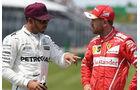 Hamilton & Vettel - GP Kanada 2017