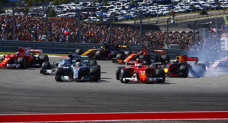 Hamilton & Vettel - GP USA 2017