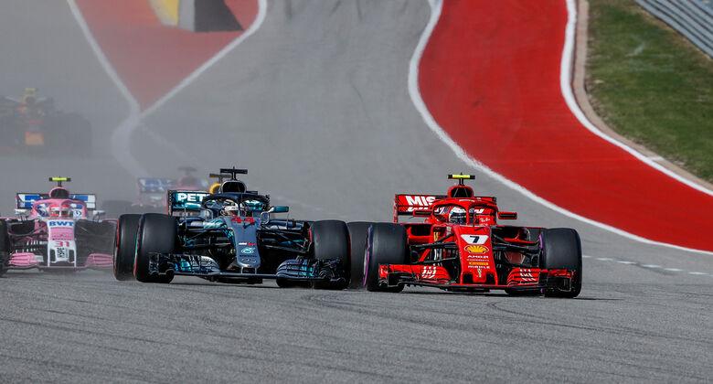 Hamilton vs. Räikkönen - Formel 1 - GP USA - Austin - 2018