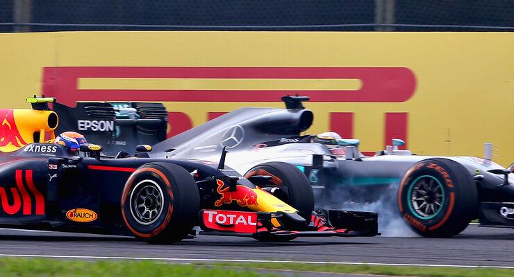 Hamilton vs. Verstappen - GP Japan 2016