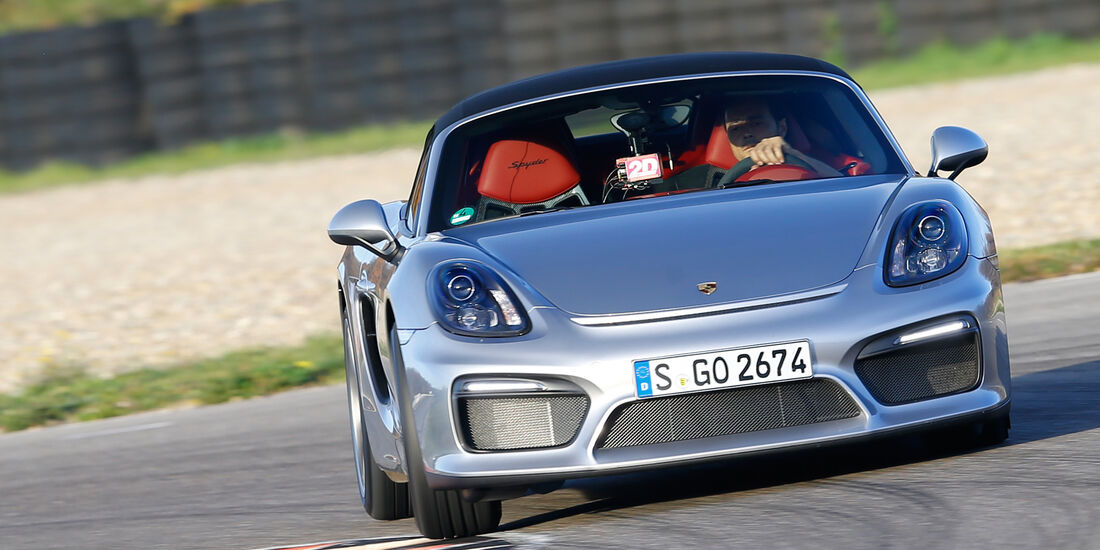 Handling-Check, Porsche Boxster Spyder