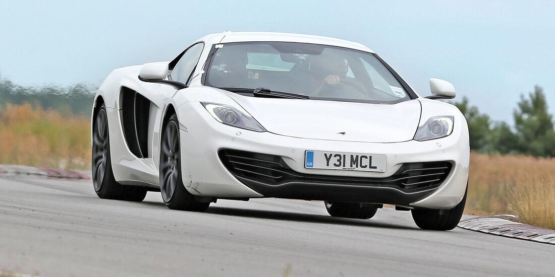 Handlingtest, McLaren MP4-12C