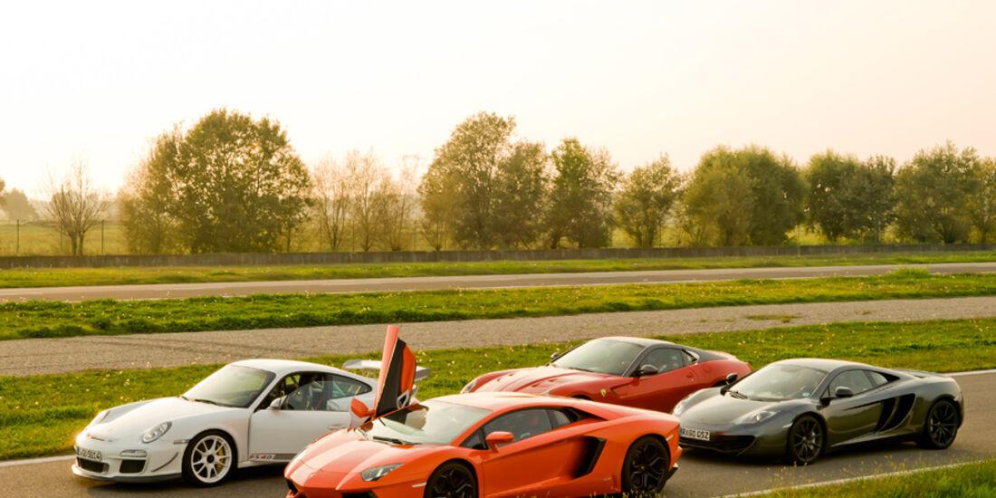 Handlingtest, Supersportwagen