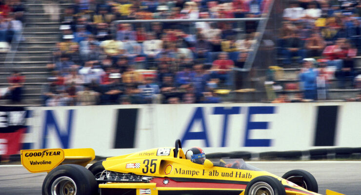 Hans Heyer - PC4-Ford V8 ATS Racing Team - GP Deutschland 1977