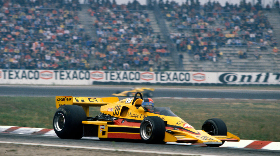 Hans Heyer - Penske PC4 - GP Deutschland 1977 - Hockenheim
