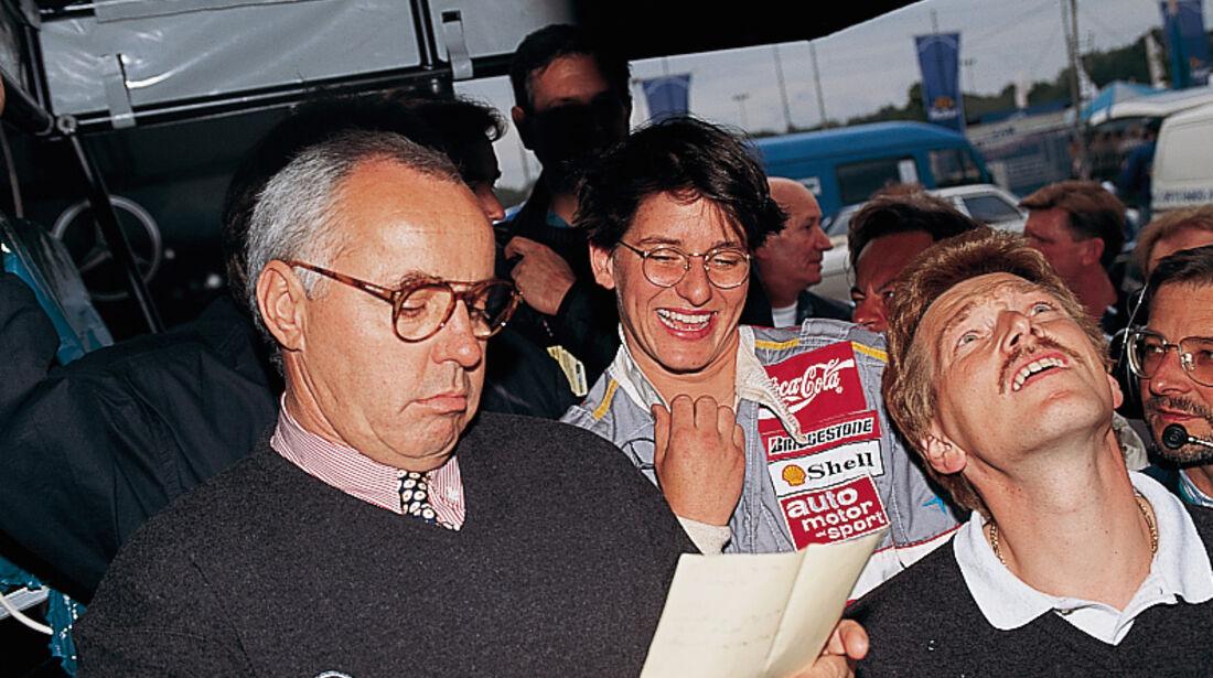 Hans Werner Aufrecht, AMG-Gründer, und Ellen Lohr