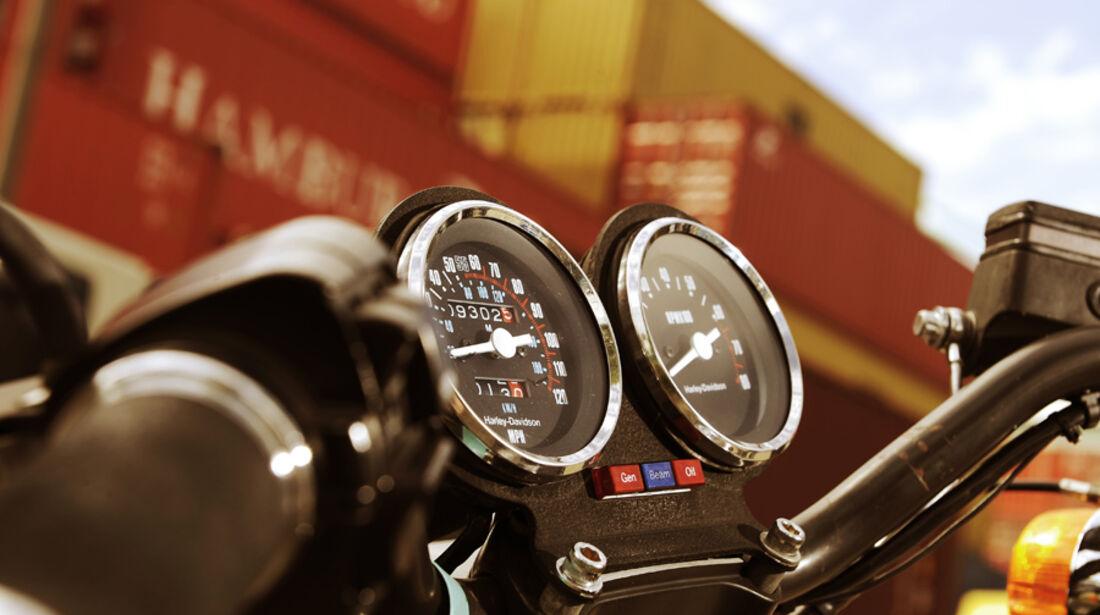 Harley-Davidson XR 1000, Tacho