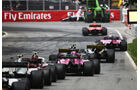 Hartley-Stroll-Crash - Formel 1 - GP Kanada 2018