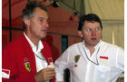 Harvey Postlethwaite - John Barnard - Ferrari - GP Deutschland 1993 - Hockenheim