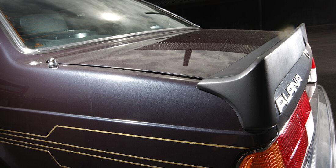 Heckspoiler am BMW Alpina B7