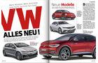 Heftvorschau, Titelgeschichte VW, ams2018
