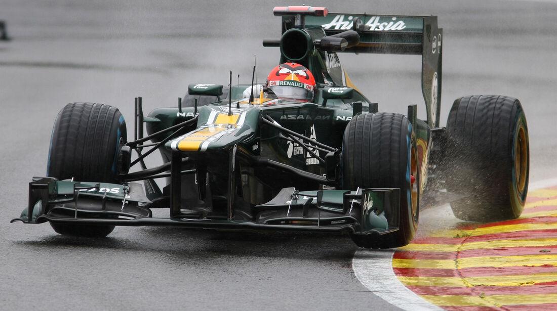 Heikki Kovalainen - Caterham - Formel 1 - GP Belgien - Spa-Francorchamps - 31. August 2012