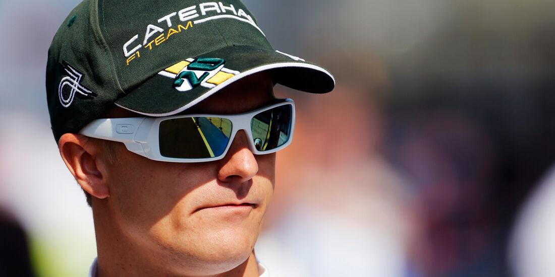 Heikki Kovalainen - Caterham - Formel 1 - GP Ungarn - Budapest - 27. Juli 2012