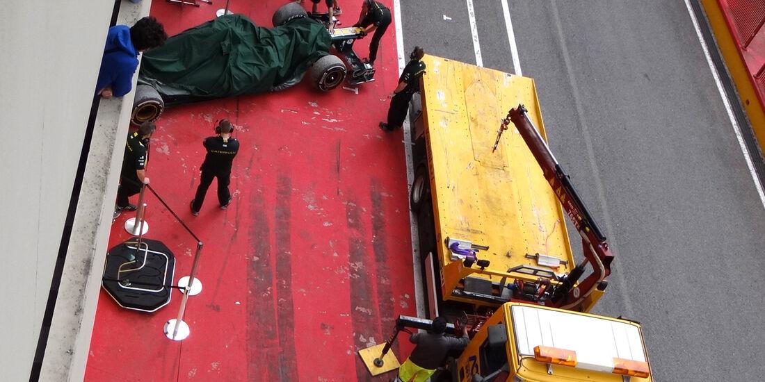 Heikki Kovalainen - Caterham - Formel 1-Test - Mugello - 3. Mai 2012
