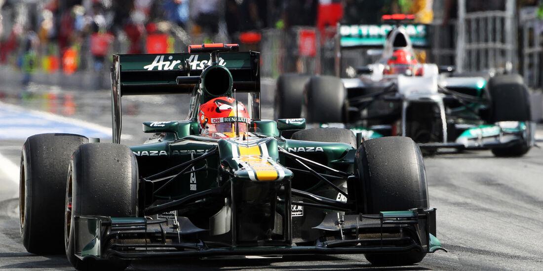 Heikki Kovalainen - Caterham - GP Spanien - 12. Mai 2012