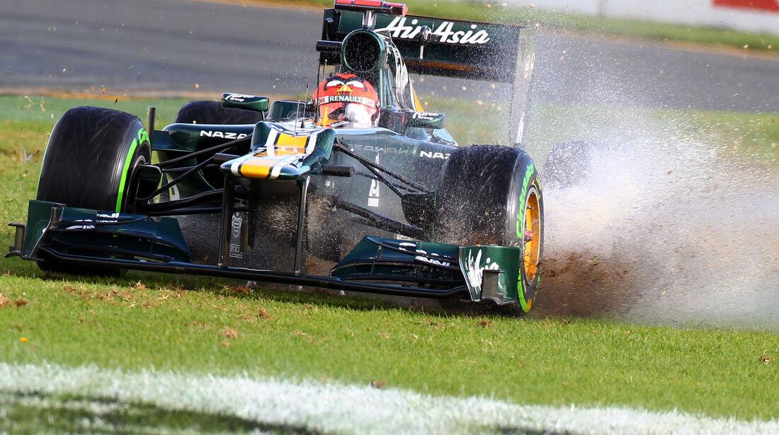 Heikki Kovalainen GP Australien 2012