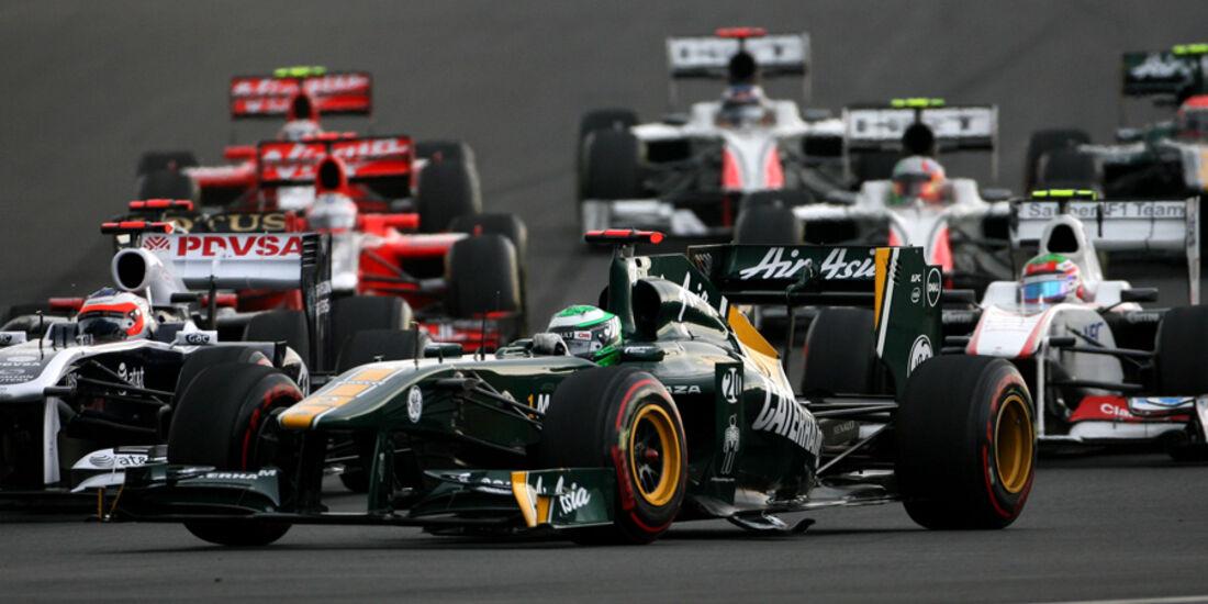 Heikki Kovalainen GP Korea 2011